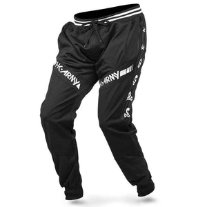 HK Army TRK Jogger Paintball Pants - Skulls Black - PaintballDeals.com