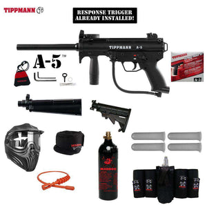 Tippmann A-5 Maddog Elite CO2 Paintball Gun Package