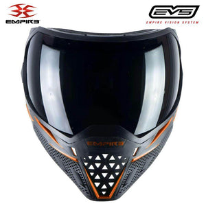 Empire EVS Thermal Paintball Mask - Black / Orange