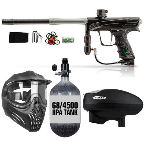 Maddog Dye Rize CZR 68/4500 HPA V-Max+ Paintball Gun Package