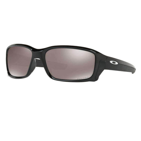 OPEN BOX Oakley Straightlink Men's Sunglasses - Polished Black w/ PRIZM Black Polarized Lens