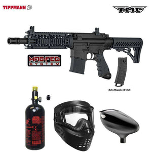 Tippmann TMC MAGFED Beginner HPA Paintball Gun Package A