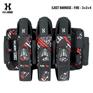 HK Army 3+2 | 4+3 | 5+4 Eject Paintball Harness Pod Pack - Fire