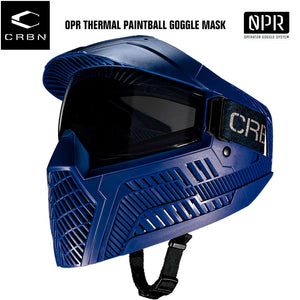 Carbon OPR Operator Thermal Paintball Goggles Mask - Navy