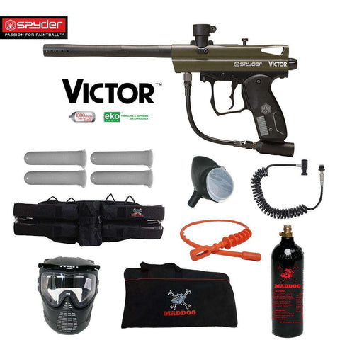 Spyder Victor Specialist Paintball Gun Package