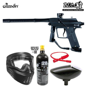 Maddog Azodin Blitz 4 Bronze Paintball Gun Starter Package