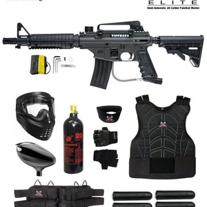 Maddog Tippmann Bravo One Elite Tactical Starter Protective CO2 Paintball Gun Package