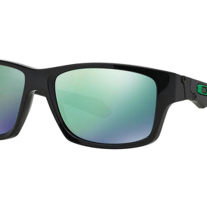 CLEARANCE - Oakley Jupiter Squared Men's Sunglasses - Polished Black w/Jade Iridium Lens - OPEN BOX
