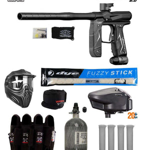 Empire Axe 2.0 Tournament Elite Paintball Gun Package A