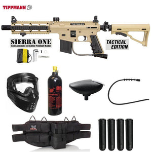 Maddog Tippmann Sierra One Silver Paintball Gun Package
