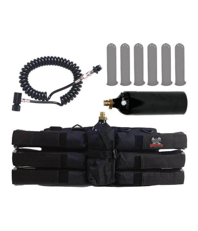 Maddog® 6+1 Pack with Pods, Remote & 20 Oz Co2 Tank