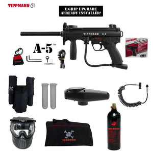Tippmann A-5 Private Paintball Gun Package