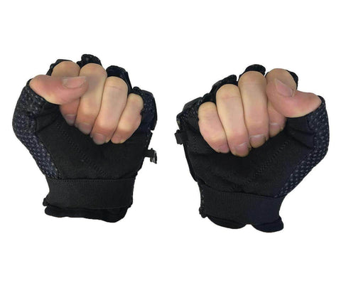 Zephyr Tactical Half-Finger Gloves - Black