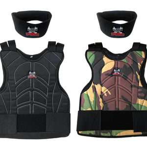 Maddog® Padded Chest Protector w/ Neck Protector Safety Combo