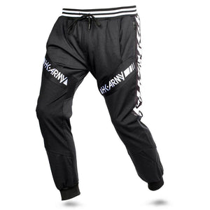 HK Army TRK Jogger Paintball Pants - HK Stripe Black - PaintballDeals.com