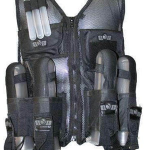 Gen X Lightweight Paintball Vest - Black