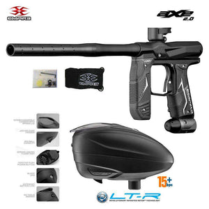 Empire Axe 2.0 Paintball Gun + Dye LT-R Loader Combo Package