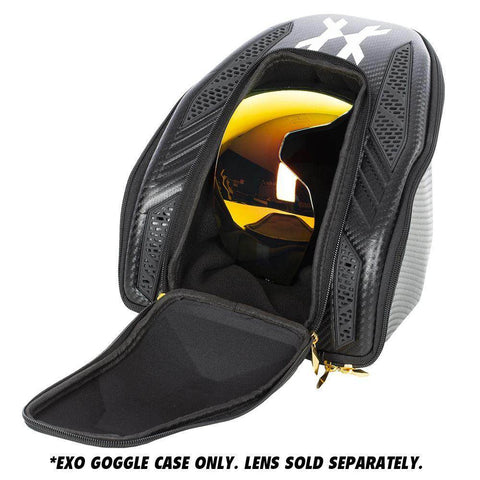 HK Army Exo Paintball Goggle Mask Case - Black Carbon Fiber