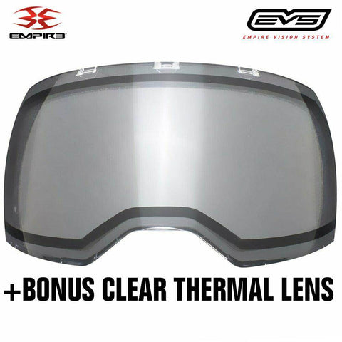 Empire EVS Thermal Paintball Mask - Black / White