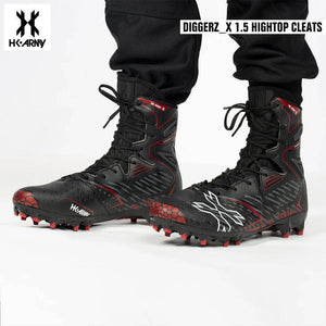 HK Army Diggerz_X 1.5 Hightop Paintball Cleats