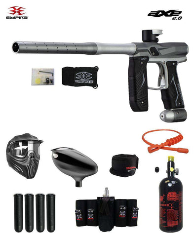 Empire Axe 2.0 Maddog Elite HPA Paintball Gun Package