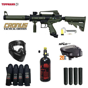 Tippmann Cronus Tactical Expert Paintball Gun Package
