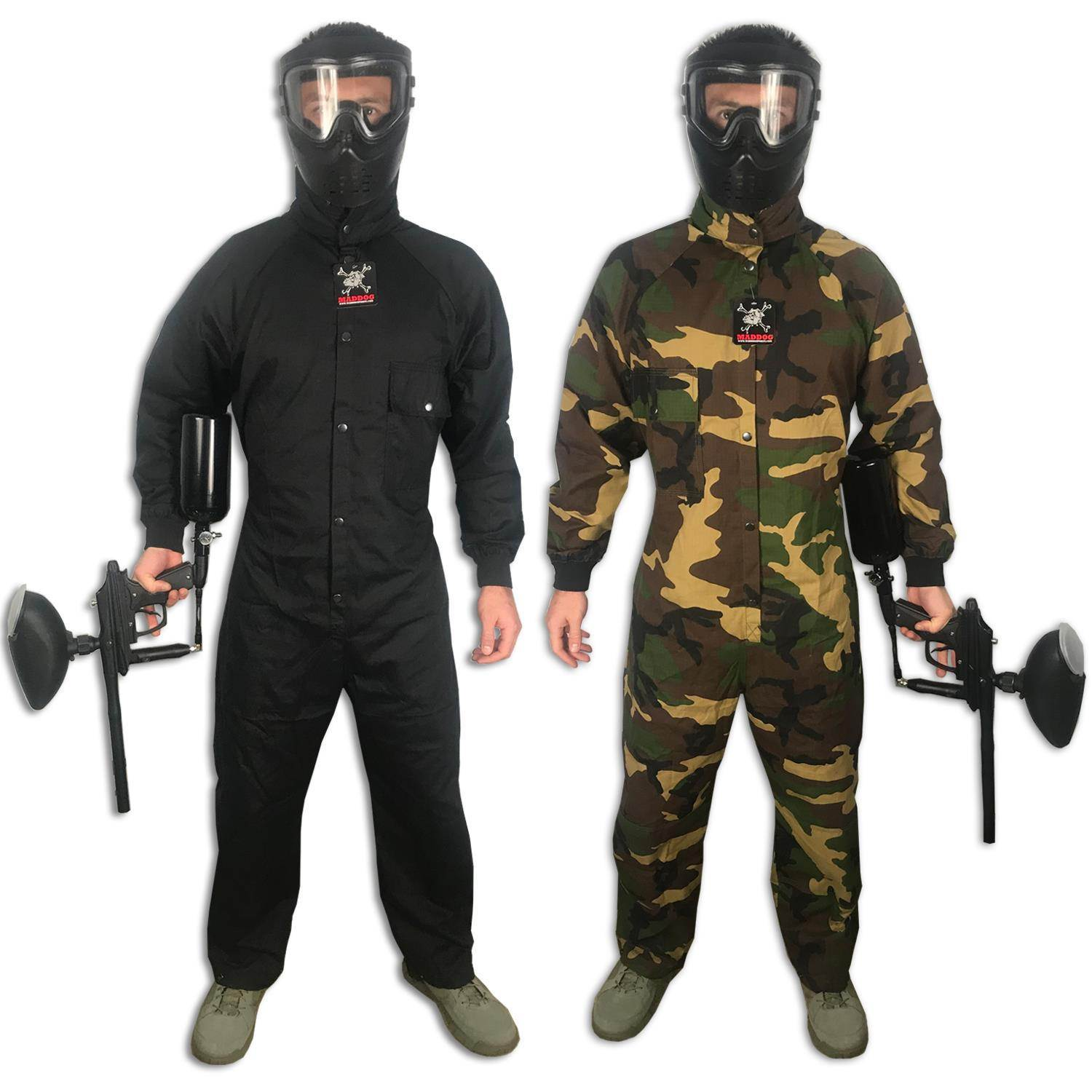 CLEARANCE - Maddog Tactical Paintball Rip Stop Coverall Jumpsuit - OPEN BOX - PaintballDeals.com