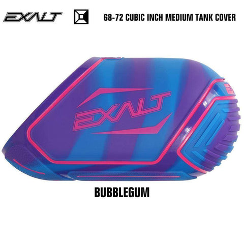 Exalt 68-72 Cubic Inch Compressed Air HPA Medium Paintball Tank Cover - Bubblegum
