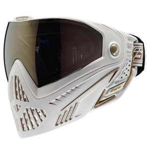 CLEARANCE - Dye i5 Paintball Goggles - White / Gold - OPEN BOX