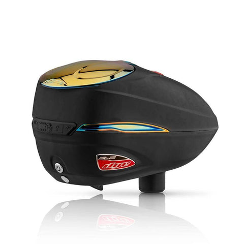 Dye Rotor R2 Electronic Paintball Loader - Black / Fire