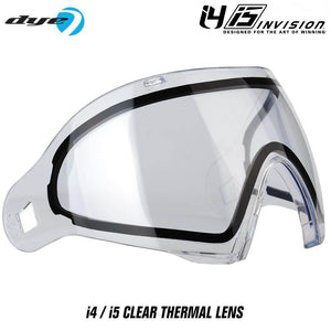 Dye I4 / I5 Paintball Mask Thermal Replacement Lens