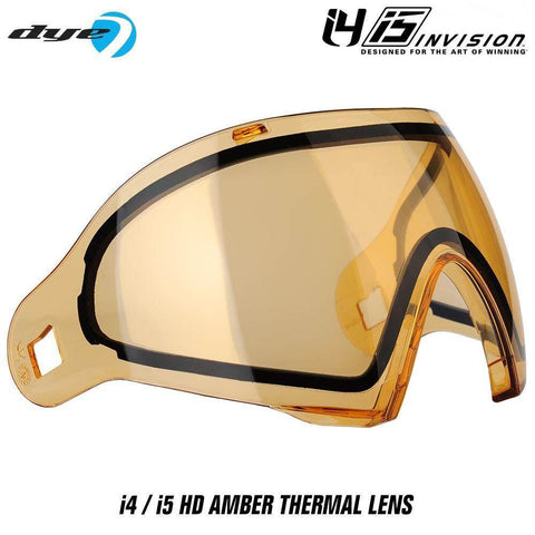 Dye I4 / I5 Paintball Mask Thermal Replacement Lens - PaintballDeals.com