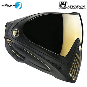 Dye I4 Thermal Paintball Goggles - Black / Gold