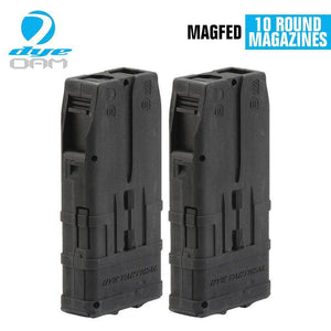Dye DAM Tactical 10 Round Magazine - 2 Pack - Black