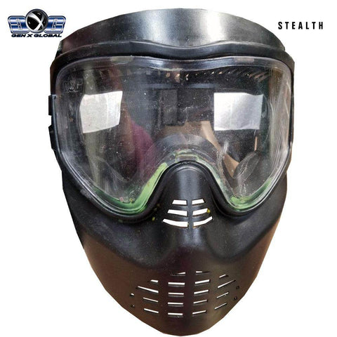 USED GenX Global Stealth Paintball Goggles - PaintballDeals.com