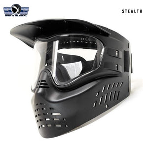 GenX Global Stealth Paintball Goggles - Black