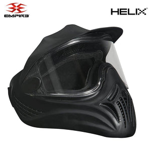Empire Helix Single Lens Paintball Mask - Black - PaintballDeals.com