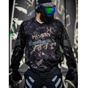 HK Army HSTL Line Padded Paintball Jersey - Jungle - PaintballDeals.com