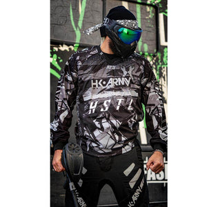 HK Army HSTL Line Padded Paintball Jersey - Charcoal