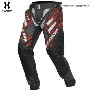 "HK Army Freeline ""V2 Jogger Fit"" Paintball Pants - Fire"