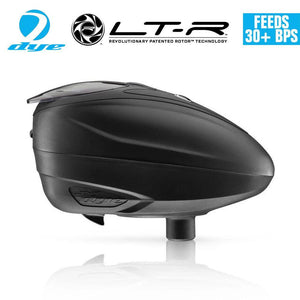Dye LT-R Loader .68 cal Electronic Paintball Loader Hopper 30+ BPS - Black - PaintballDeals.com