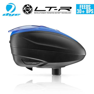 Dye LT-R Loader .68 cal Electronic Paintball Loader Hopper 30+ BPS - Blue
