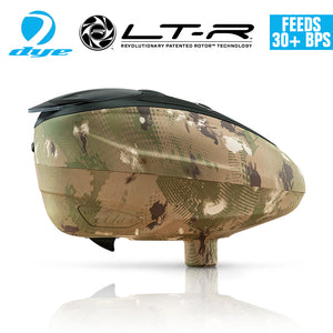 Dye LT-R Electronic Paintball Loader Hopper 30+ BPS