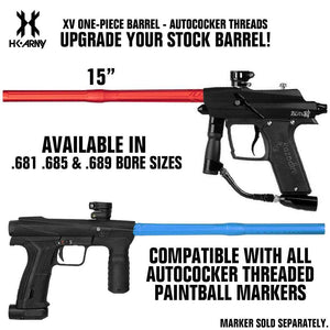 HK Army XV One-Piece Paintball Barrel - Autococker