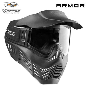 V-Force Armor Field Vision Anti-Fog Paintball Mask - Black