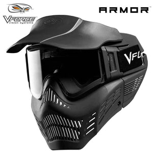 V-Force Armor Field Vision Anti-Fog Paintball Mask - Black - PaintballDeals.com