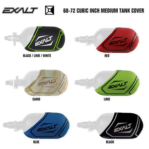 Exalt 68-72 Cubic Inch Compressed Air HPA Medium Paintball Tank Cover - PaintballDeals.com