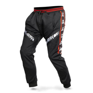 HK Army TRK Jogger Paintball Pants - Skulls Red - PaintballDeals.com
