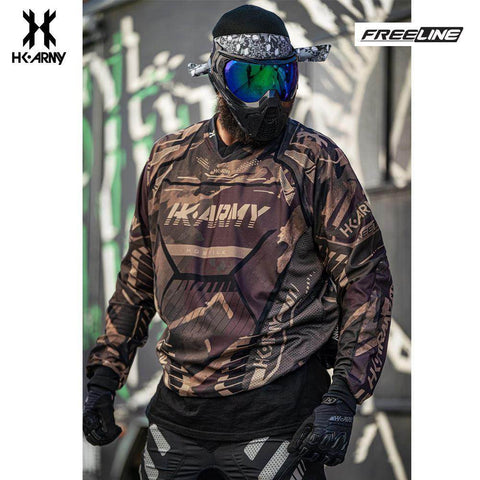 HK Army Freeline Paintball Jersey - Sandstorm