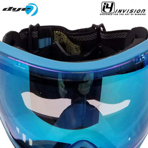 CLEARANCE - Dye I4 Thermal Paintball Goggles - Powder Blue - OPEN BOX/USED